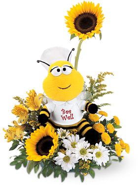 get well flowers delivery to medical city center of dallas by florist dallas nea